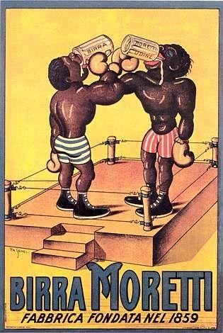 Poster storico birra Moretti