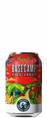 FOURPURE Basecamp Pilsner Lattina 33Cl