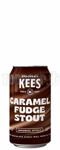 Kees Caramel Fudge Stout Lattina 33Cl