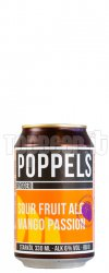 POPPELS Mango Passion Sour Lattina 33Cl