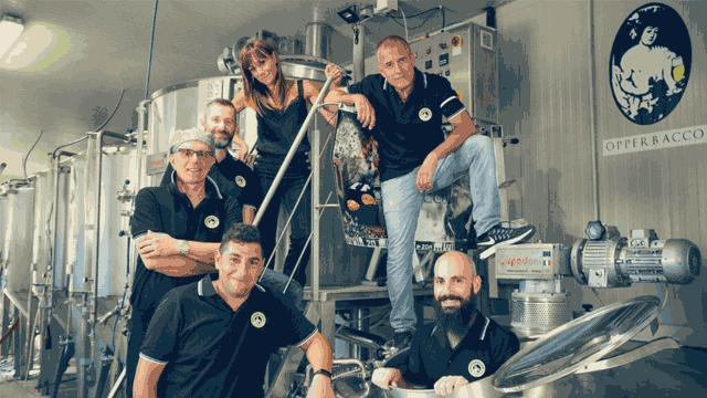 Lo staff del birrificio artigianale Opperbacco di Teramo | Topbeer