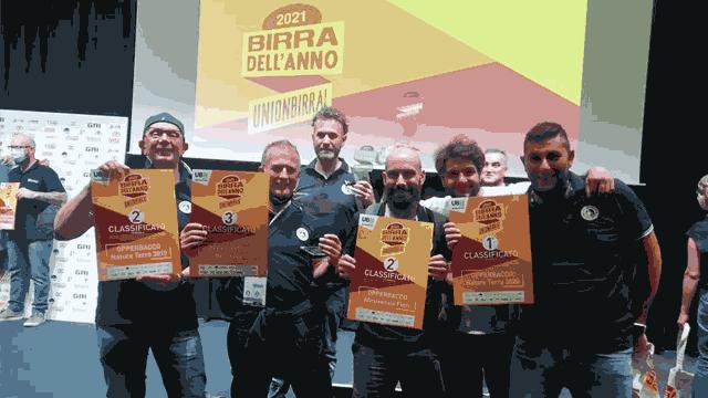 Premiazione delle birre Opperbacco al concorso Birra dell'Anno 2021 di Unionbirrai, al Cibus di Parma | Topbeer