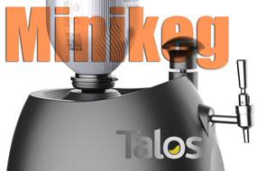 Scopri tutte le birre in minikeg e il dispenser Talos | Topbeer